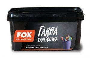 FOX-DEKORATOR FARBA TABLICOWA